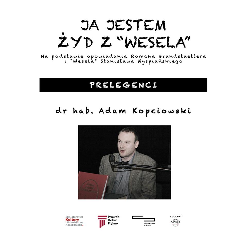 Prelegenci – dr hab. Adam Kopciowski